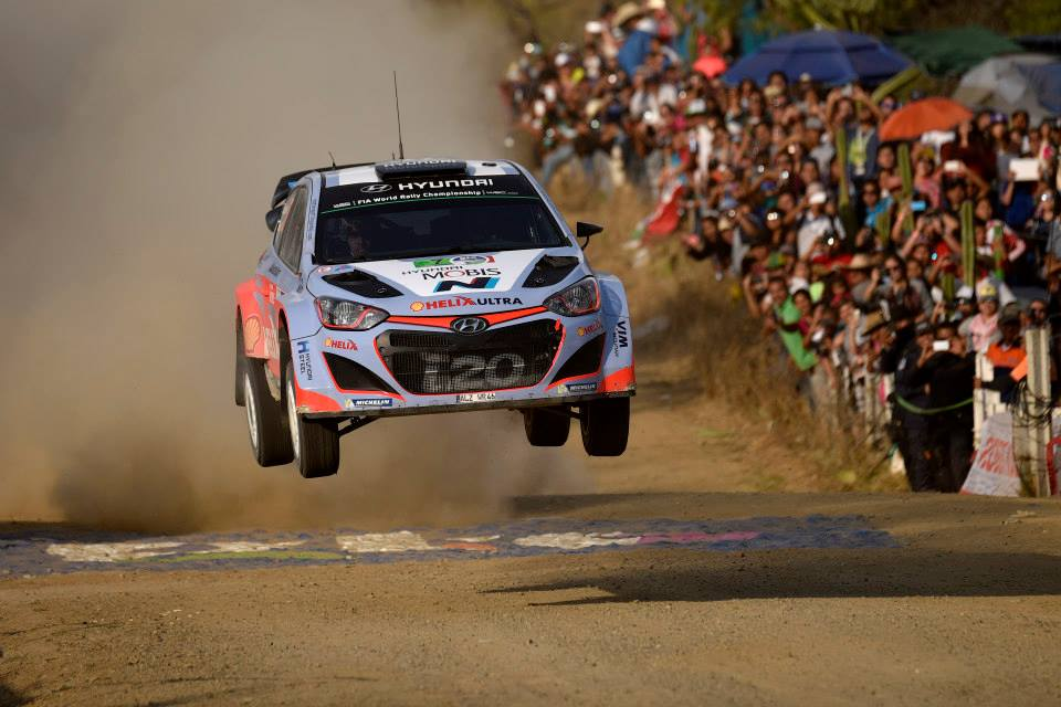 FIA WORLD RALLY CHAMPIONSHIP (WRC) 2015: HYUNDAI MOTORSPORT BATTLES TO TOP-FIVE FINISH AS ALL THREE CARS COMPLETE RALLY MEXICO
