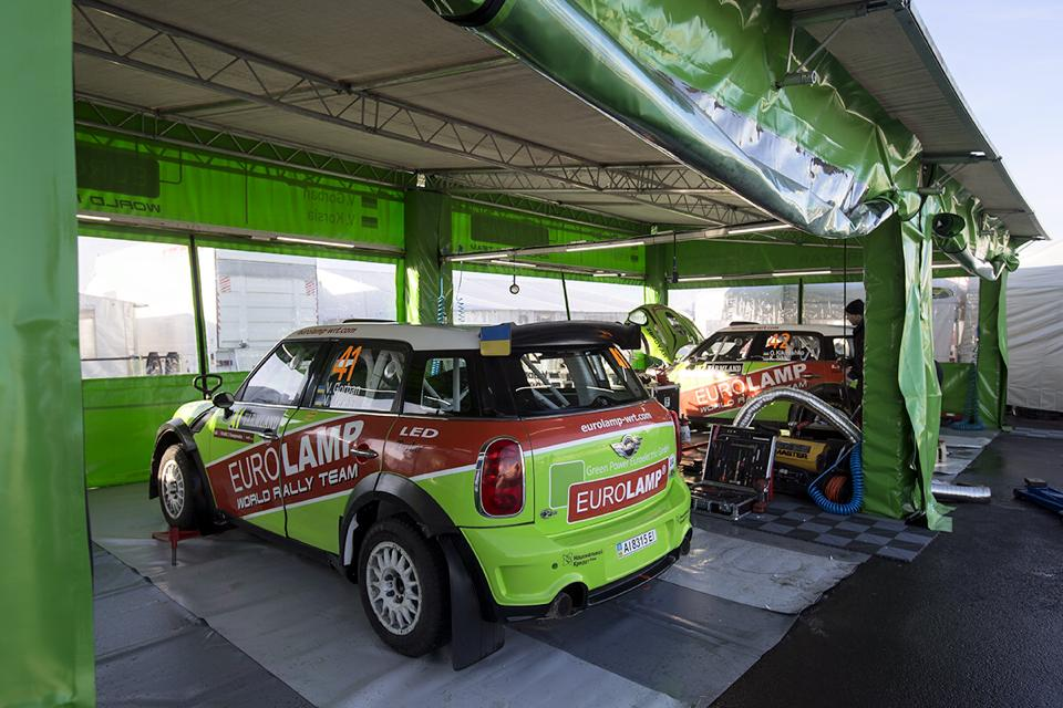 FIA WORLD RALLY CHAMPIONSHIP (WRC2) 2015: MINI EUROLAMP WRT- RALLY MEXICO-WE STARTED WITH THE PIRELLI FACTORY