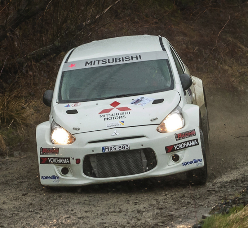 FIA WORLD RALLY CHAMPIONSHIP (WRC2) 2015: SUCCESSFUL COMPETITION DEBUT UNDERLINES NEW MITSUBISHI'S GRAVEL CREDENTIALS
