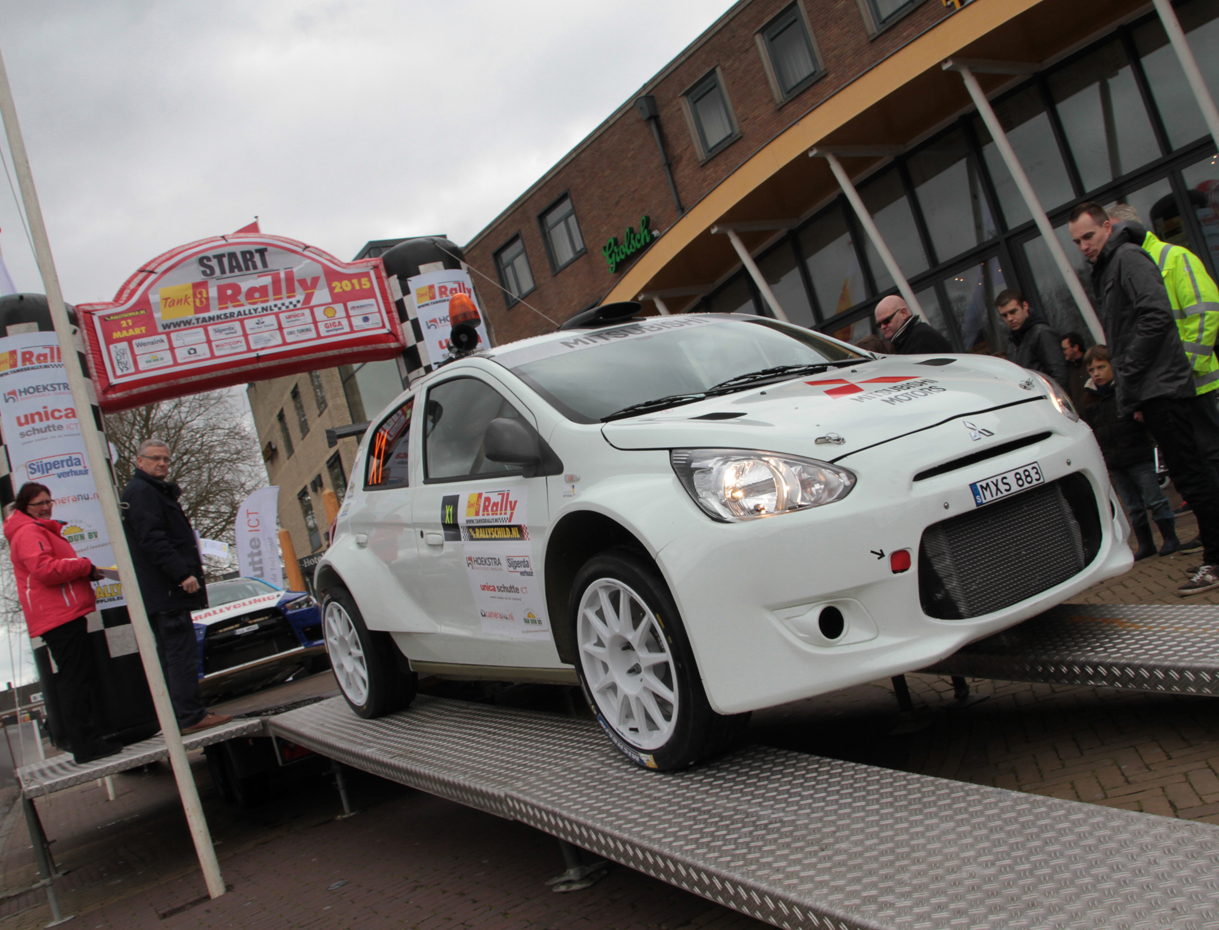 FIA WRC2 / ERC 2015 – MITSUBISHI R 5 – M-PART SWEDEN – FIRST ASPHALT OUTING REVEALS MITSUBISHI R5'S POTENTIAL