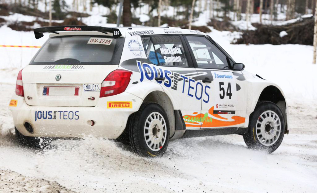 FINNISH RALLY CHAMPIONSHIP (FRC) 2015: TEEMU SUNINEN, A NEW PROMISE FLYNG FINN, WHO WANTS TO BE WORLD RALLY CHAMPION, FROM FINLAND