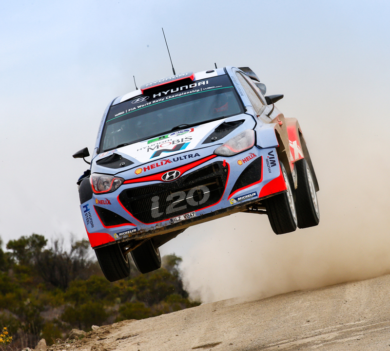 FIA WORLD RALLY CHAMPIONSHIP (WRC) 2015: HYUNDAI SHELL WORLD RALLY TEAM- HYUNDAI MOTORSPORT CONSOLIDATES TOP FIVE POSITION MOVING INTO FINAL DAY OF RALLY MEXICO