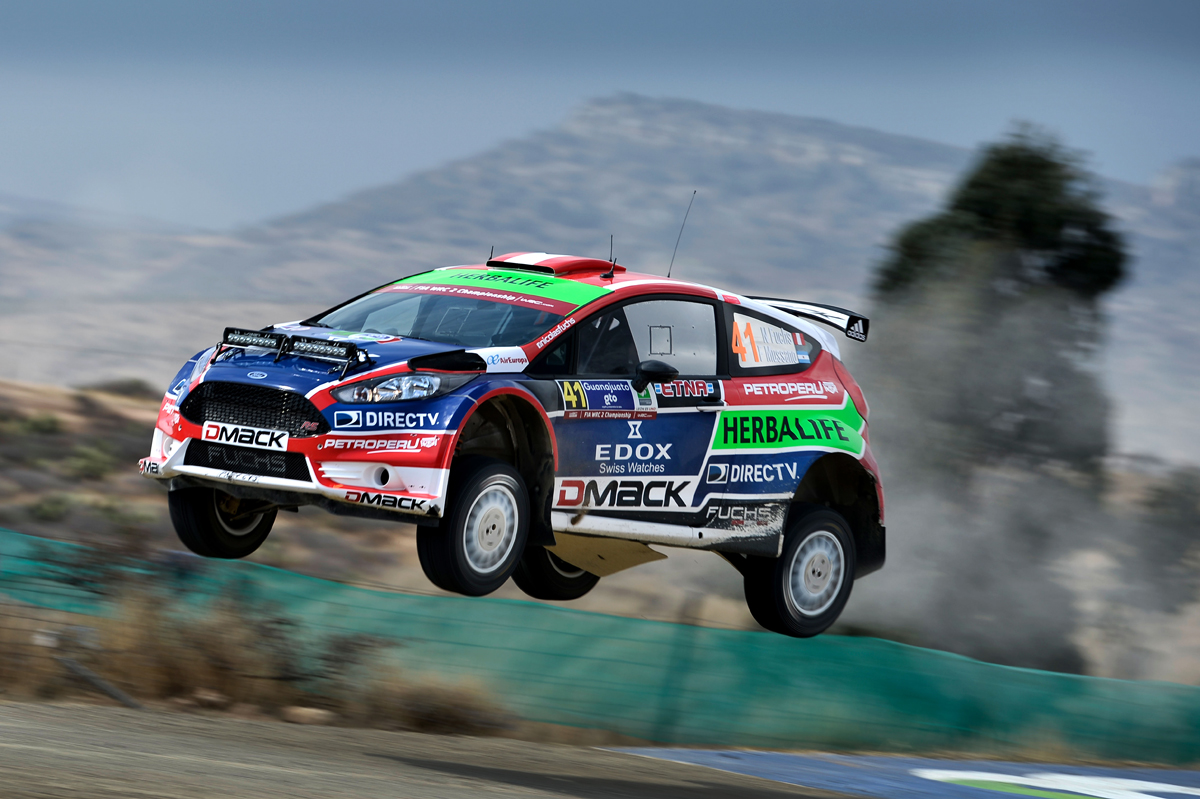 FIA WORLD RALLY CHAMPIONSHIP (WRC2) 2015: DRIVE DMACK WORLD RALLY TEAM- DOUBLE DMACK PODIUM ON TOUGH RALLY MEXICO