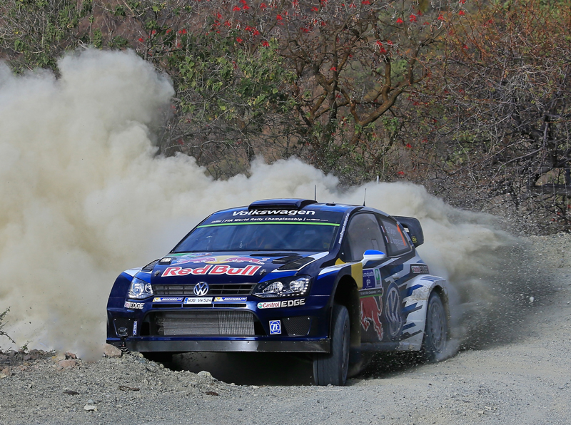 FIA WORLD RALLY CHAMPIONSHIP 2015: VOLKSWAGEN RED BULL MOTORSPORT-VOLKSWAGEN GETS THE RALLY MEXICO UNDERWAY WITH THE BEST TIME IN THE SHAKEDOWN