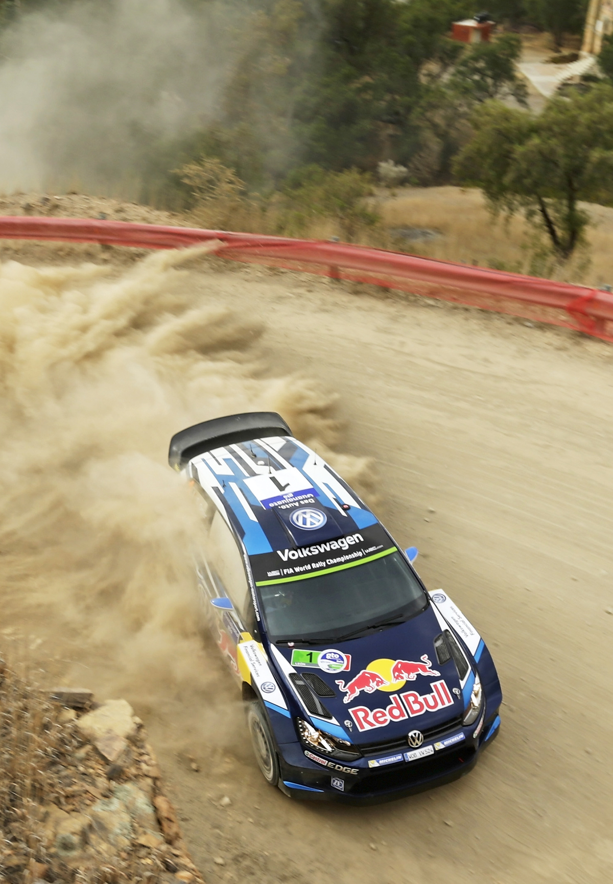 FIA WORLD RALLY CHAMPIONSHIP (WRC) 2015: OGIER SHOWS HIS CLASS TO PULL CLEAR OF RIVALS AFTER SECOND DAY OF RALLY MEXICO