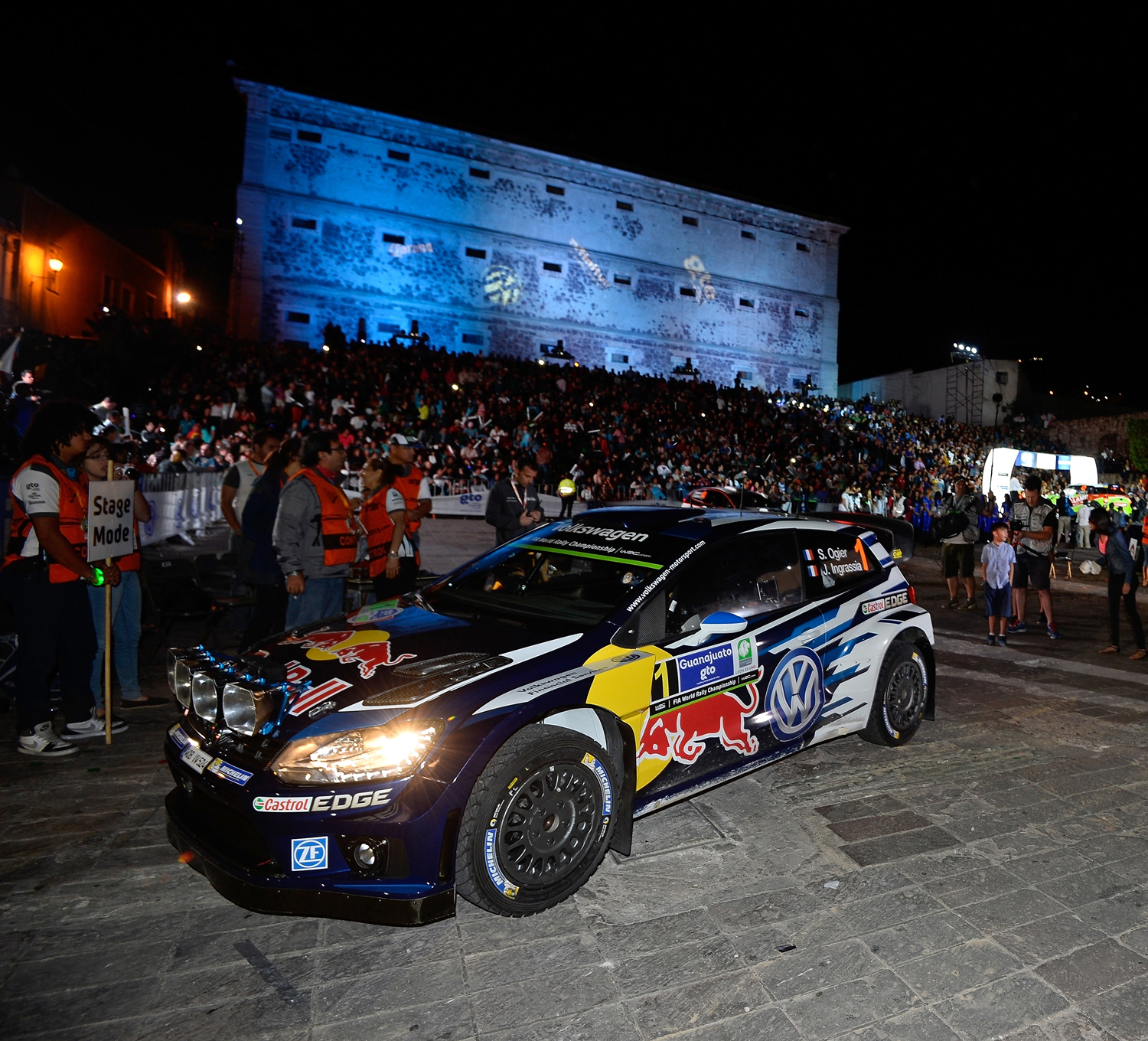 FIA WORLD RALLY CHAMPIONSHIP 2015: OGIER AND INGRASSIA SNATCH SLENDER RALLY LEAD AFTER TWO SHORT MEXICAN SPECIAL STAGES