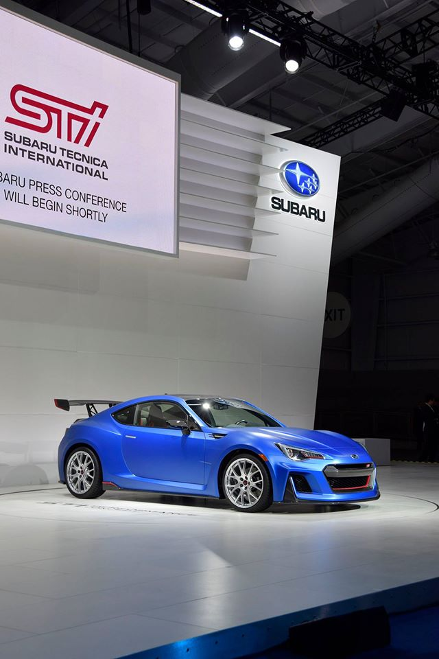 FIA WRC / WEC / WTCC 2017- 2018:  SUBARU UNVEILS STI PERFORMANCE CONCEPT AT 2015 NEW YORK INTERNATIONAL AUTO SHOW