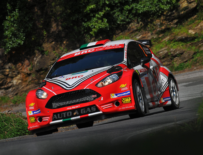 Giandomenico Basso, Mitia Dotta (Ford Fiesta R5 LDI R5 #2, Movisport)