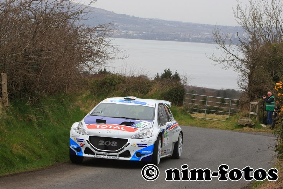 FIA EUROPEAN RALLY CHAMPIONSHIP (ERC) 2015: PEUGEOT RALLY ACADEMY- CRAIG BREEN AND THE 208 T16: TWO GOOD REASON TO BE SATISFED!