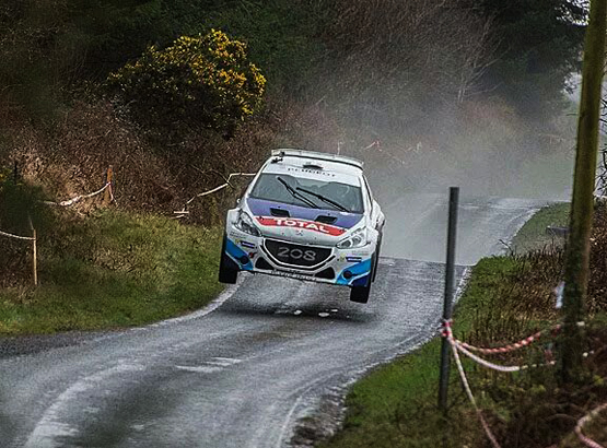 FIA EUROPEAN RALLY CHAMPIONSHIP (ERC) 2015:  BREEN ACHIEVES CHILDHOOD DREAM WITH ERC CIRCUIT WIN