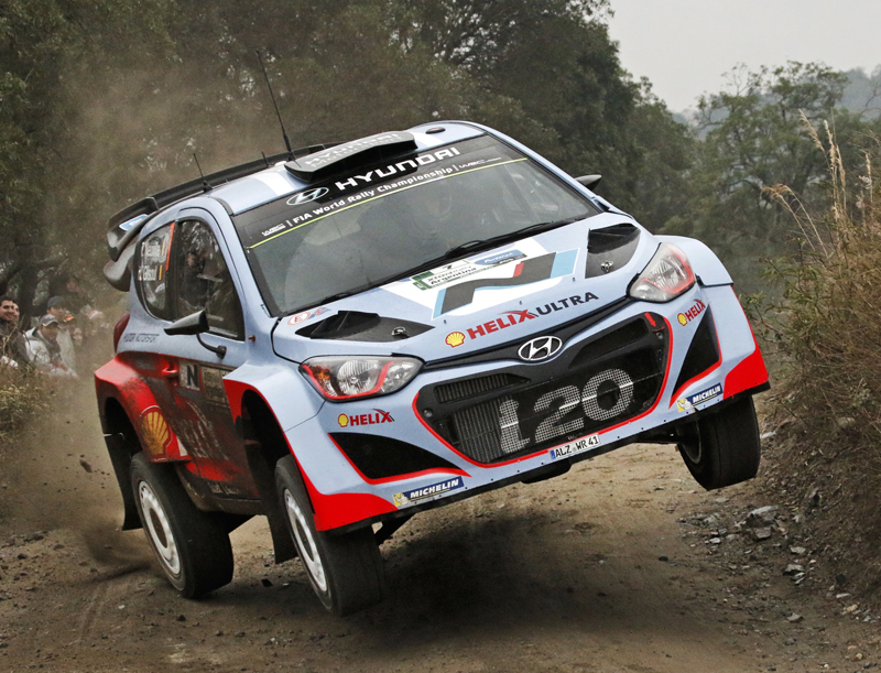 FIA WORLD RALLY CHAMPIONSHIP (WRC) 2015: HYUNDAI SHELL WORLD RALLY TEAM- HYUNDAI MOTORSPORT LOOKS TO CONTINUE POSITIVE MOMENTUM AT RALLY ARGENTINA