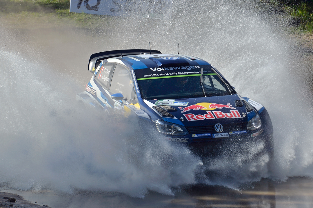 FIA WORLD RALLY CHAMPIONSHIP (WRC) 2015: VOLKSWAGEN RED BULL MOTORSPORT- BACK IN DRIFT MODE- VOLKSWAGEN DUOS SET THE PACE IN THE ARGENTINA SHAKEDOWN
