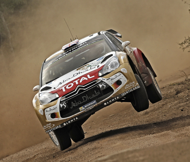FIA WORLD RALLY CHAMPIONSHIP (WRC) 2015: CITROËN TOTAL ABU DHABI WORLD RALLY TEAM- AN ENDURANCE RALLY IN ARGENTINA