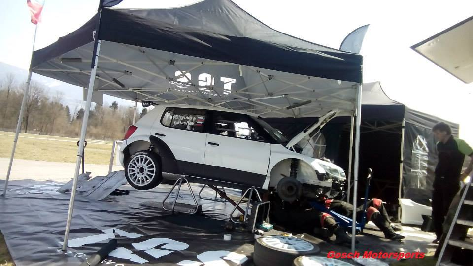 AUSTRIAN RALLY CHAMPIONSHIP (ORM) 2015: TGS TEAM WORLDWIDE- TGS TEAM AT AUSTRIA'S LAVANTTAL RALLY WITH THIS YEAR BIRYUKOV'S DEBUT
