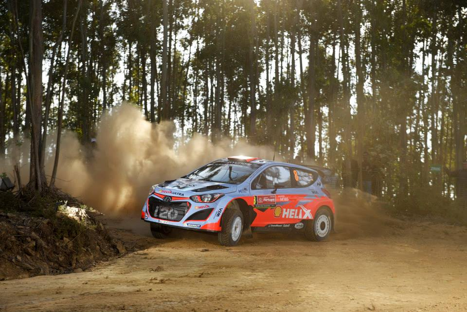 FIA WORLD RALLY CHAMPIONSHIP (WRC 2015): HYUNDAI SHELL WORLD RALLY TEAM- MIXED FORTUNES FOR HYUNDAI MOTORSPORT TRIO ON PENULTIMATE DAY IN PORTUGAL