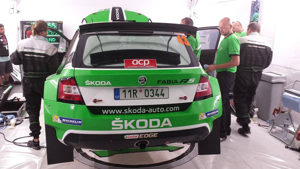 FIA WORLD RALLY CHAMPIONSHIP (WRC2-2015): ŠKODA MOTORSPORT- TWO PODIUM POSITIONS: ŠKODA CELEBRATES BRILLIANT WRC DEBUT WITH THE FABIA R 5