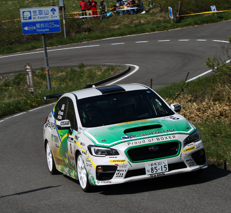 JAPANESE RALLY CHAMPIONSHIP (JRC 2015): TEIN MOTORSPORTS- MR. KAMADA AND MR. ICHINO IN JN6, DRIVING WRX STI IN KUMAKOGEN