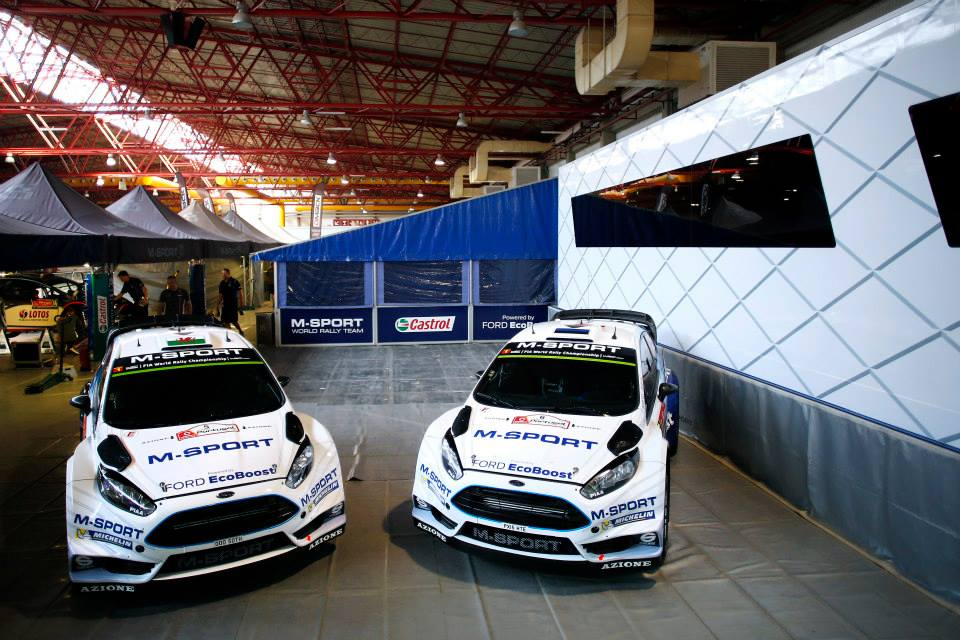 FIA WORLD RALLY CHAMPIONSHIP ( WRC 2015): M-SPORT WORLD RALLY TEAM- TÄNAK SHINES WITH NEW FORD FIESTA RS WRC