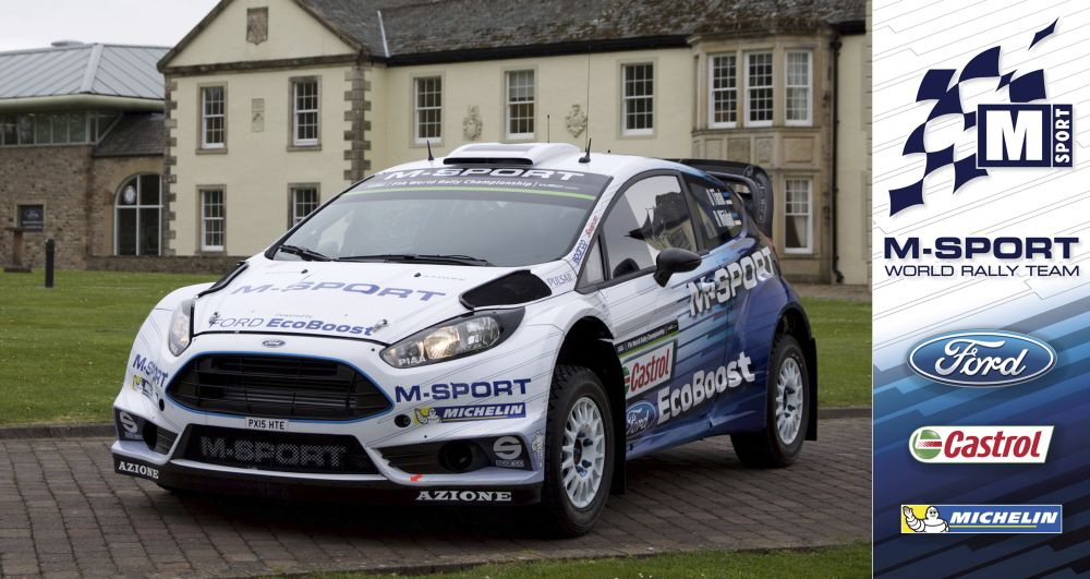 FIA WORLD RALLY CHAMPIONSHIP (WRC 2015): NEW FORD FIESTA RS WRC DEBUTS AT NEW RALLY DE PORTUGAL