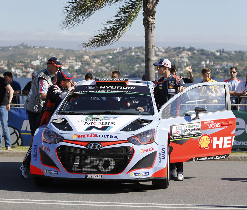 2015 Rally Argentina April 22-26 copyright: Hyundai Motorsport