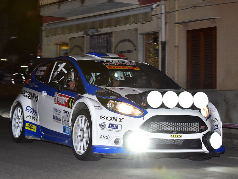 ITALIAN RALLY CHAMPIONSHIP (CIR 2015): SEBASTIAN CHARDONNET GETS THE STAGE OF COLLESANO ON FORD FIESTA R5