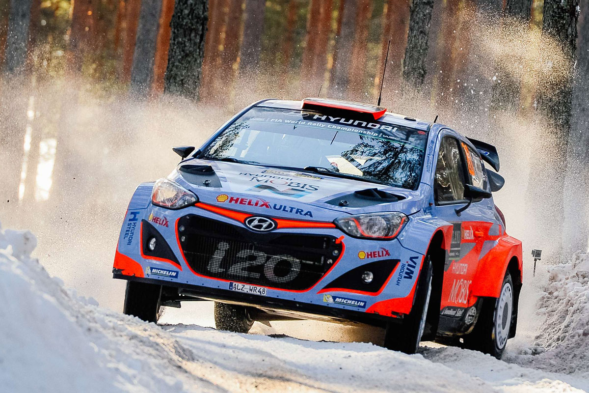 FIA WORLD RALLY CHAMPIONSHIP (WRC 2015): HYUNDAI SHELL WORLD RALLY TEAM- HYUNDAI MOTORSPORT CONFIRMS FOURTH CAR FOR POLAND, GERMANY, FRANCE AND GB