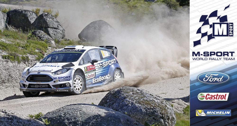 FIA WORLD RALLY CHAMPIONSHIP (WRC 2015): M-SPORT WORLD RALLY TEAM- TÄNAK BACK WITH ENCOURAGING PERFORMANCE
