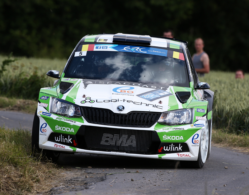 05 LOIX Freddy GITSELS Johan Skoda Fabia R5 action during the 2015 European Rally Championship ERC Ypres Rally,  from June 18 to 20th 2015 at Ypres, Belgium. Photo Gregory Lenormand / DPPI