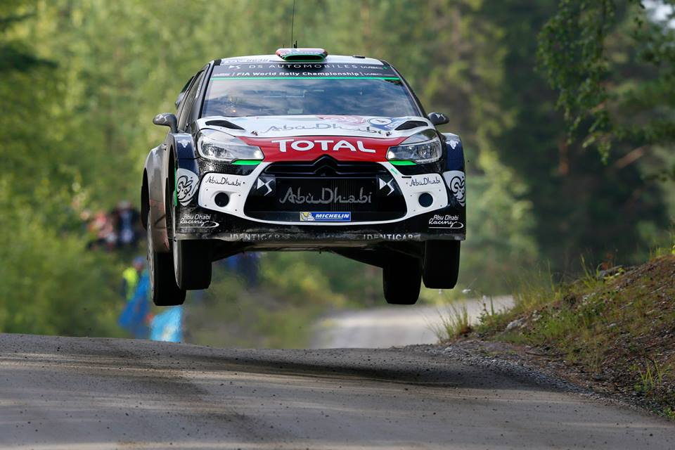 FIA WORLD RALLY CHAMPIONSHIP (WRC 2015): CITROËN TOTAL ABU DHABI WORLD RALLY TEAM – THE FINNISH GRAND PRIX IS GO, GO, GO