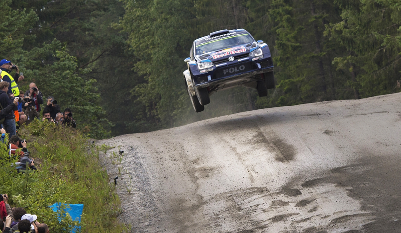 FIA WORLD RALLY CHAMPIONSHIP (WRC 2015): VOLKSWAGEN RED BULL MOTORSPORT – YUMPS! – VOLKSWAGEN DUOS AT THE FRONT IN THE FINLAND SHAKEDOWN