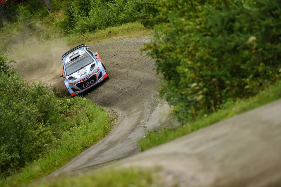 FIA WORLD RALLY CHAMPIONSHIP (WRC 2015): HYUNDAI SHELL WORLD RALLY TEAM – MISSION ACCOMPLISHED FOR HYUNDAI MOTORSPORT WITH TOP-FOUR FINISH IN FINLAND