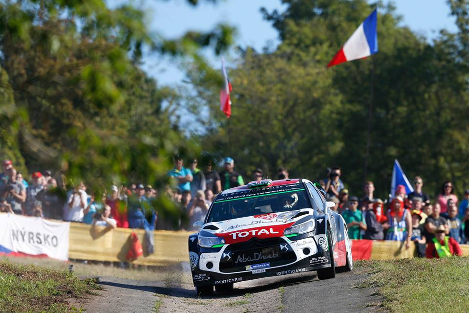 FIA WORLD RALLY CHAMPIONSHIP (WRC 2015): CITROËN TOTAL ABU DHABI WORLD RALLY TEAM – THE DS 3 WRCs FINISH IN THE POINTS