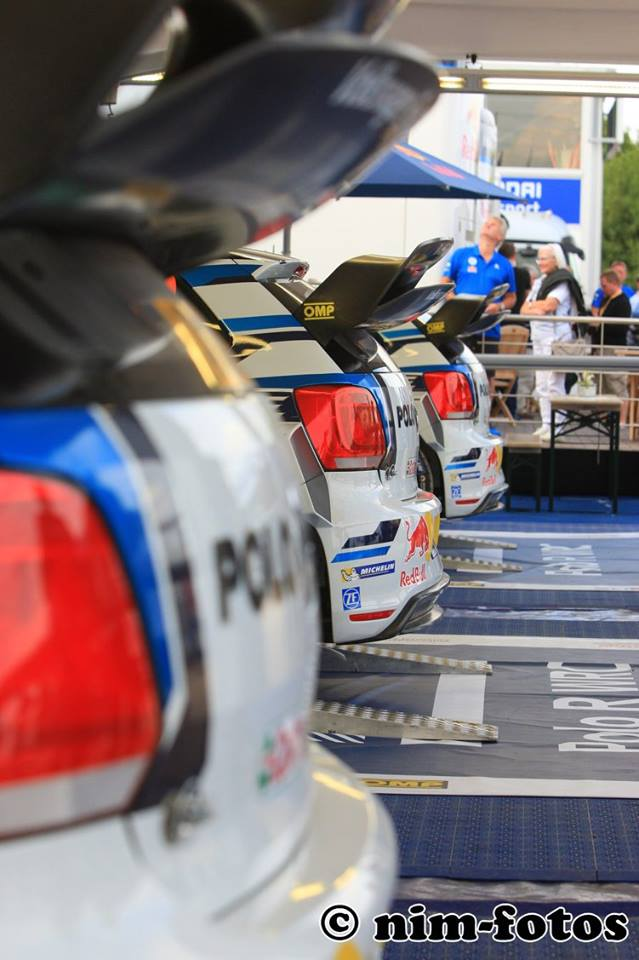 FIA WORLD RALLY CHAMPIONSHIP (WRC 2015): VOLKSWAGEN RED BULL MOTORSPORT – SUCCESSFUL SWITCH TO ASPHALT MODE – FASTEST TIME FOR VOLKSWAGEN IN SHAKEDOWN AT HOME EVENT
