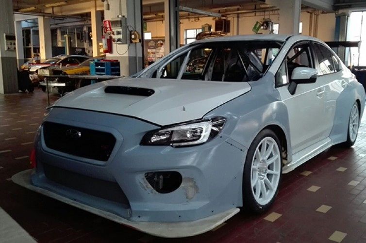 TCR INTERNATIONAL SERIES (TCR 2015): TOP RUN SUBARU TCR IS READY FOR TESTING