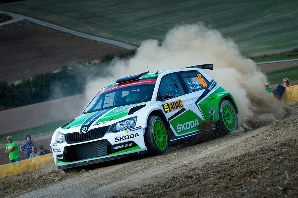 FIA WORLD RALLY CHAMPIONSHIP (WRC2 – 2015): ŠKODA MOTORSPORT – ŠKODA DRIVER KOPECKÝ EXTENDS HIS LEAD IN THE RALLY GERMANY