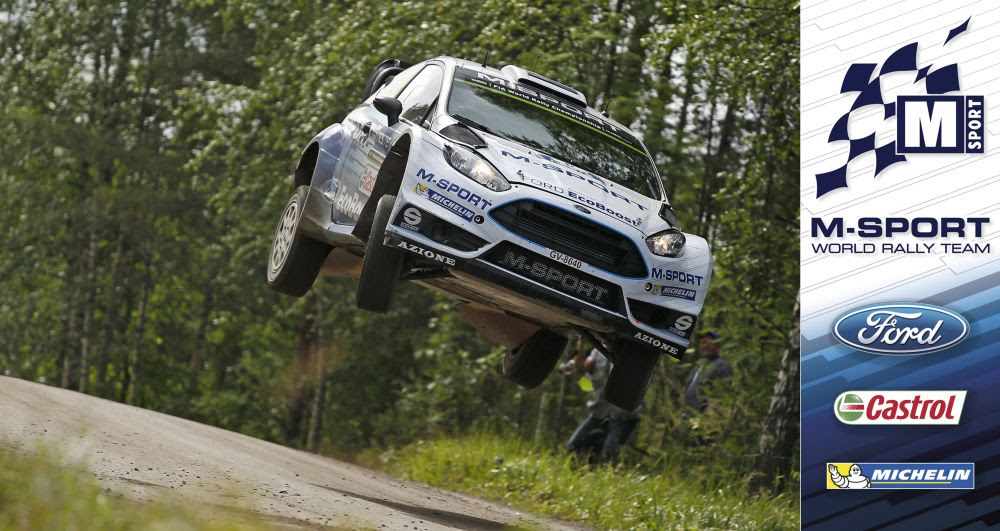 FIA WORLD RALLY CHAMPIONSHIP (WRC 2015): M-SPORT WORLD RALLY TEAM – TÄNAK JUMPS TO FIFTH IN FINLAND