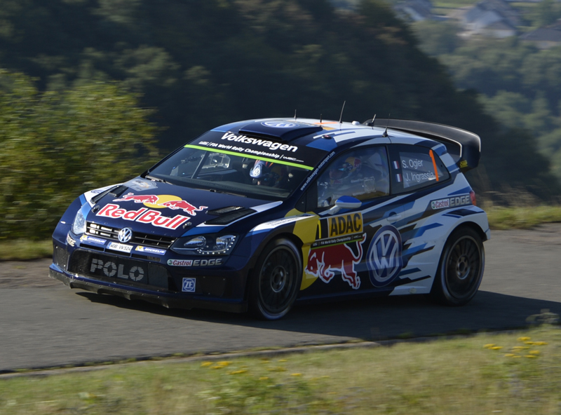 FIA WORLD RALLY CHAMPIONSHIP (WRC 2015): VOLKSWAGEN LOCKS OUT THE TOP THREE IN THE 2015 ADAC RALLYE DEUTSCHLAND