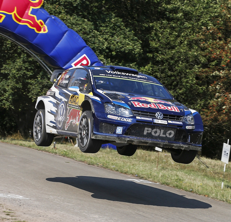 FIA WORLD RALLY CHAMPIONSHIP (WRC 2015): VOLKSWAGEN RED BULL MOTORSPORT – UP, UP AND WAY – VOLKSWAGEN CONTINUES TO DOMINATE ITS HOME RACE AT THE RALLY GERMANY