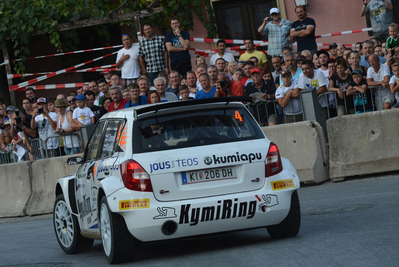 AUSTRIAN RALLY CHAMPIONSHIP (ORM 2015): TGS TEAM WORLDWIDE – TGS TEAM OFFERED A GREAT SHOW AT RALLY WEIZ IN AUSTRIA