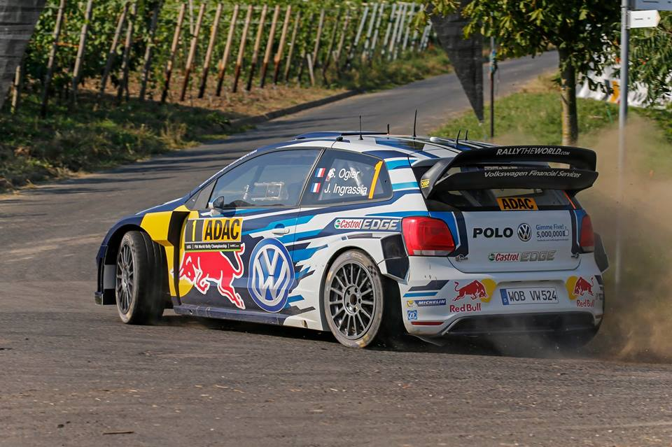 FIA WORLD RALLY CHAMPIONSHIP (WRC 2015): VOLKSWAGEN RED BULL MOTORSPORT – THREE POLO R WRC LEAD THE WAY – VOLKSWAGEN IN A LEAGUE OF ITS OWN IN GERMANY