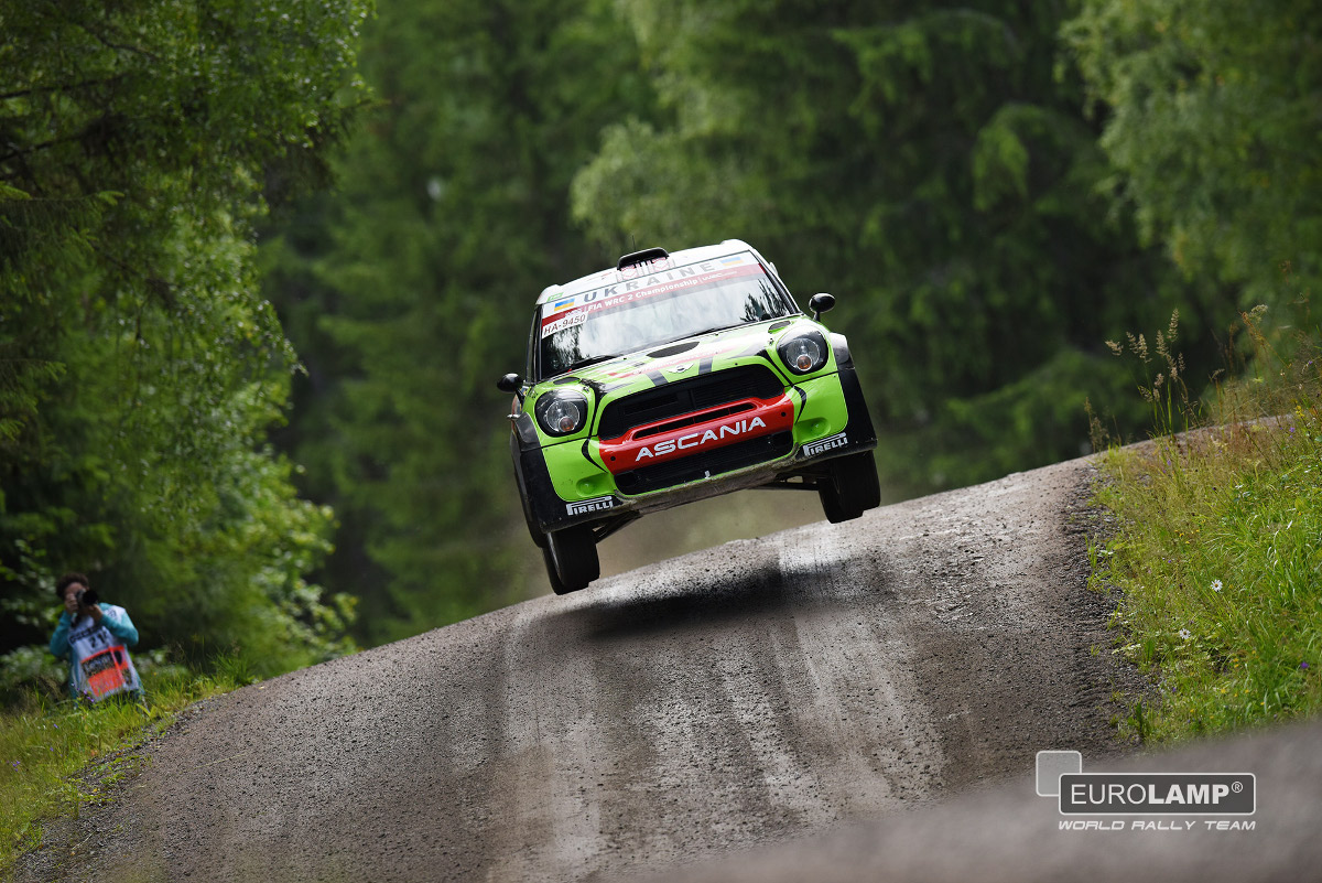 FIA WORLD RALLY CHAMPIONSHIP (WRC2 – 2015): MINI EUROLAMP WORLD RALLY TEAM – CREW CRASHED ON SS12