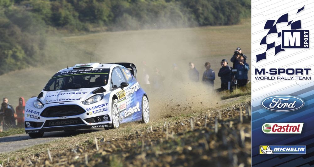 FIA WORLD RALLY CHAMPIONSHIP (WRC 2015): M-SPORT WORLD RALLY TEAM – M-SPORT WELL-PLACED TO CHALLENGE