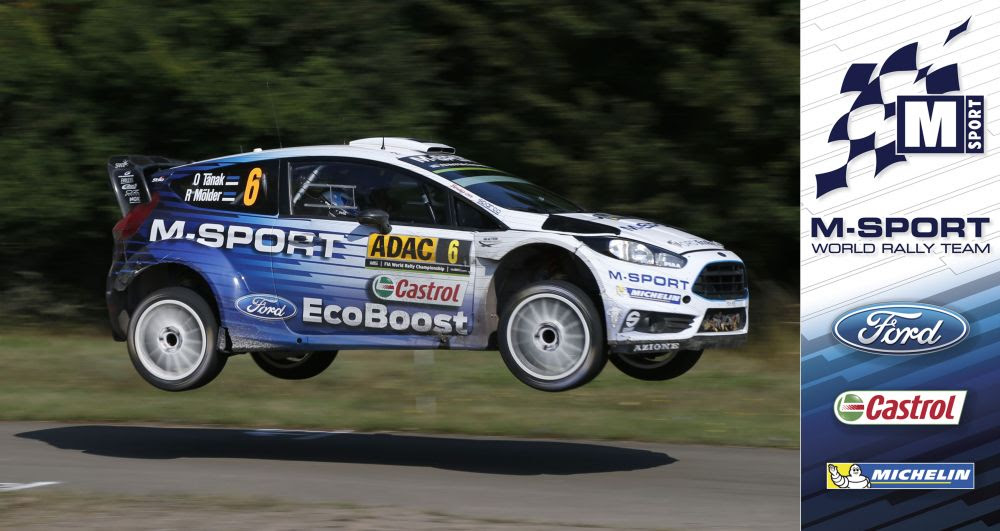 FIA WORLD RALLY CHAMPIONSHIP (WRC 2015): M-SPORT WORLD RALLY TEAM – SPEED GOES UNREWARDED FOR M-SPORT