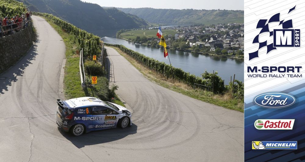 FIA WORLD RALLY CHAMPIONSHIP (WRC 2015): M-SPORT WORLD RALLY TEAM – MIDDAY QUOTES RALLYE DEUTSCHLAND, SECTION THREE