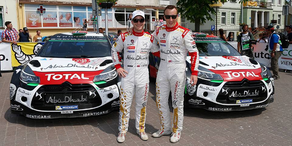 FIA WORLD RALLY CHAMPIONSHIP (WRC 2015): CITROËN TOTAL ABU DHABI WORLD RALLY TEAM – THE DS 3 WRCS MOVE ONTO TARMAC