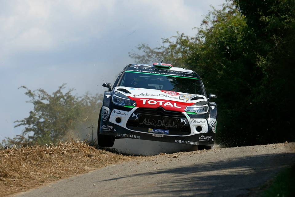 FIA WORLD RALLY CHAMPIONSHIP (WRC 2015): CITROËN TOTAL ABU DHABI WORLD RALLY TEAM – THE DS 3 WRCS MOVE UP THE STANDINGS