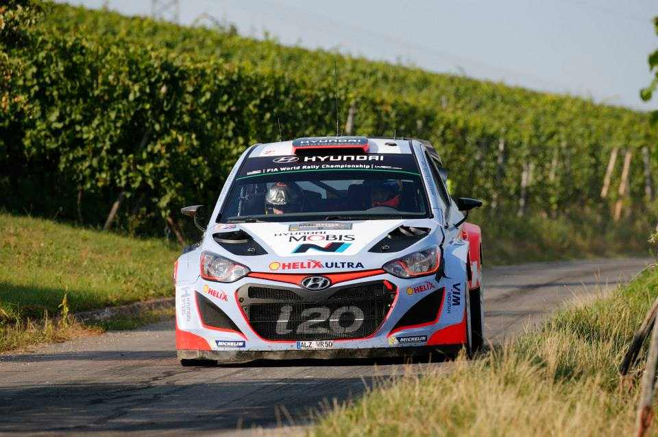 FIA WORLD RALLY CHAMPIONSHIP (WRC 2015): HYUNDAI SHELL WORLD RALLY TEAM – HYUNDAI MOTORSPORT RECLAIMS SECOND IN THE CHAMPIONSHIP WITH DOUBLE TOP-FIVE FINISH IN RALLYE DEUTSCHLAND