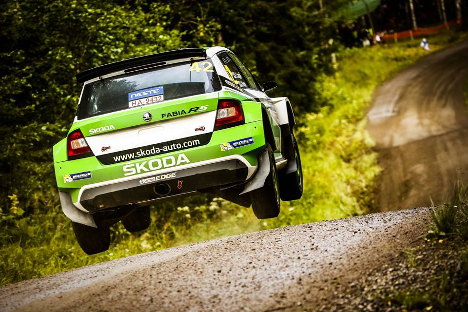 FIA WORLD RALLY CHAMPIONSHIP (WRC2 – 2015): ŠKODA MOTORSPORT – ŠKODA TEAMS EXTEND THEIR LEAD AT THE RALLUY FINLAND