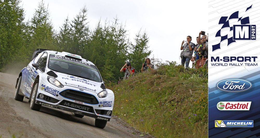 FIA WORLD RALLY CHAMPIONSHIP (WRC 2015): M-SPORT WORLD RALLY TEAM – MIDDAY QUOTES RALLY FINLAND, SECTION FOUR
