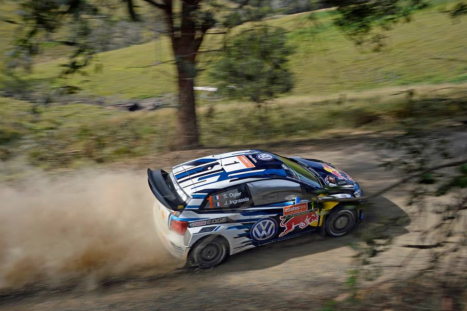 FIA WORLD RALLY CHAMPIONSHIP (WRC 2015): VOLKSWAGEN RED BULL MOTORSPORT – EXCHANGE OF BLOWS AT THE TOP – VOLKSWAGEN TRIO ON COURSE FOR THE PODIUM IN AUSTRALIA, OGIER AT THE FRONT